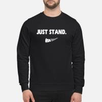 just stand shirt sweater