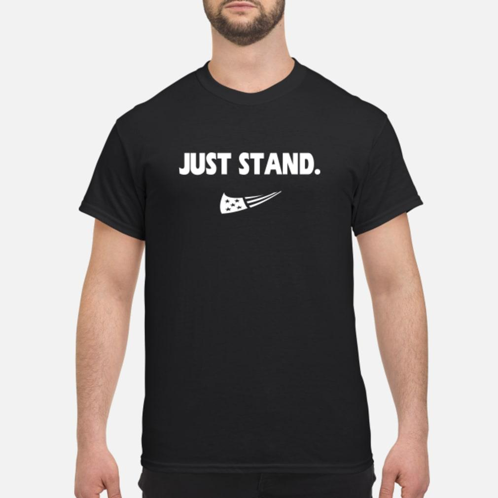 just stand shirt