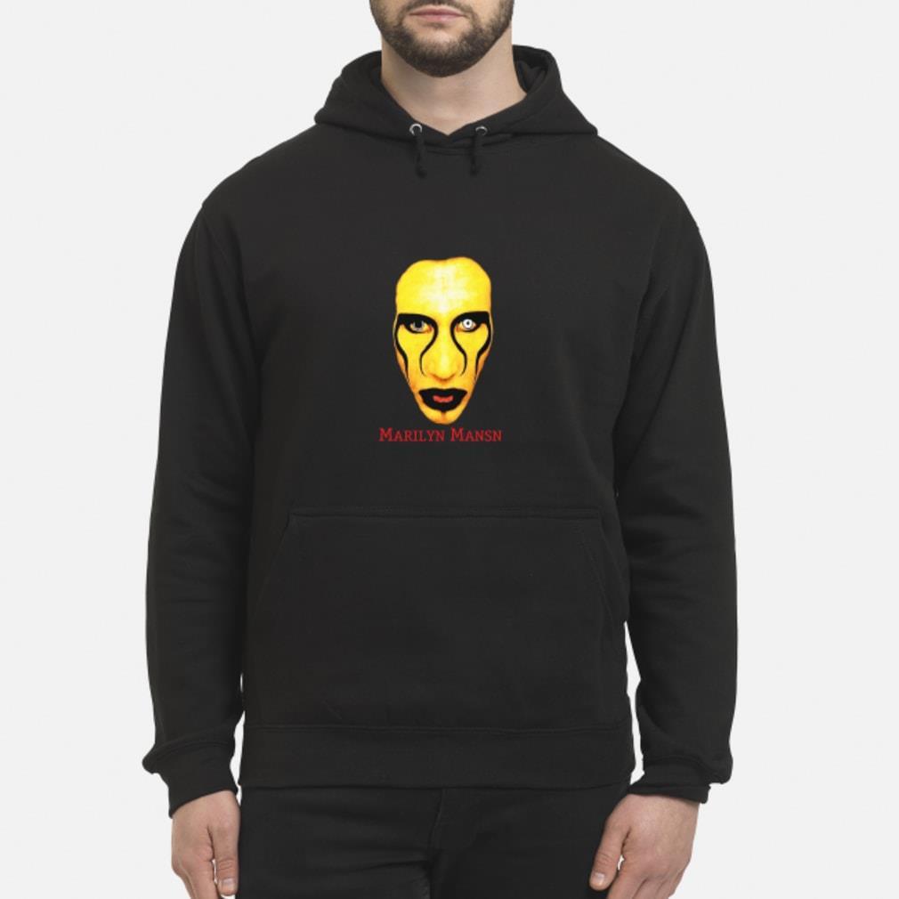 lil uzi marilyn manson shirt hoodie