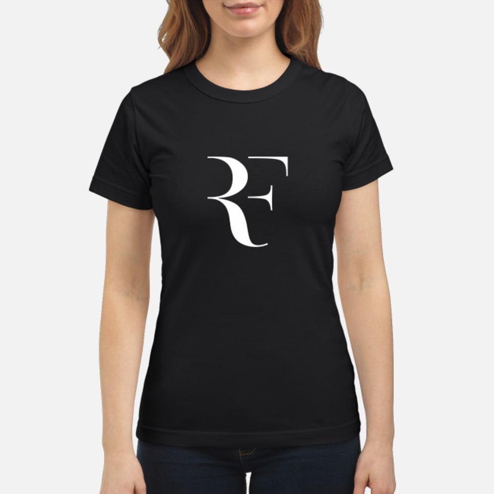 roger federer perfect shirt ladies tee