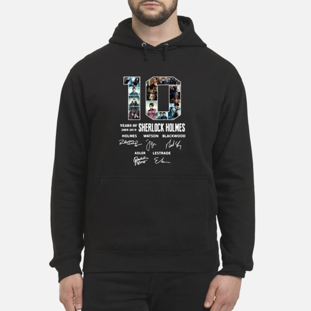 10 Years of Holmes signature shirt hoodie