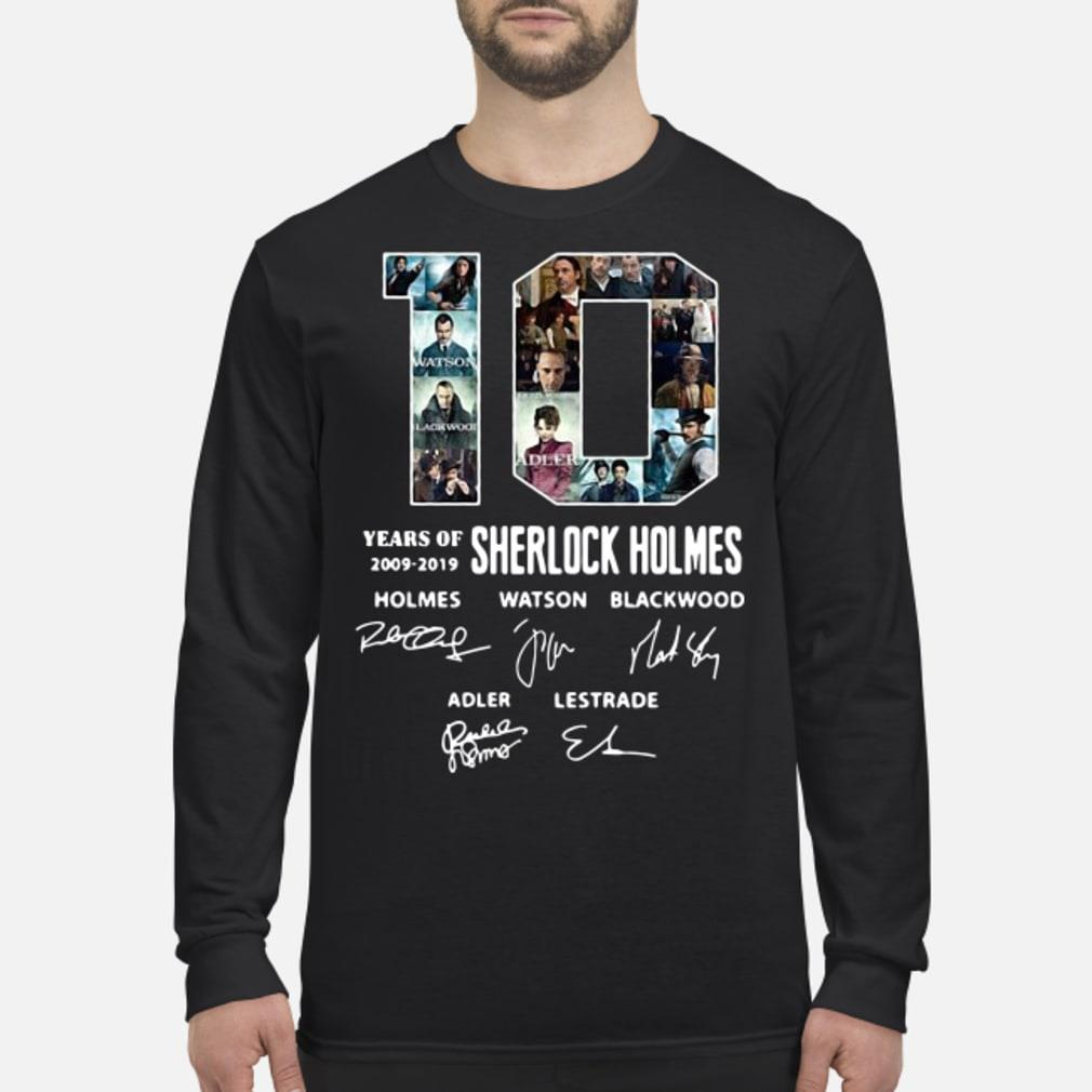10 Years of Holmes signature shirt long sleeved