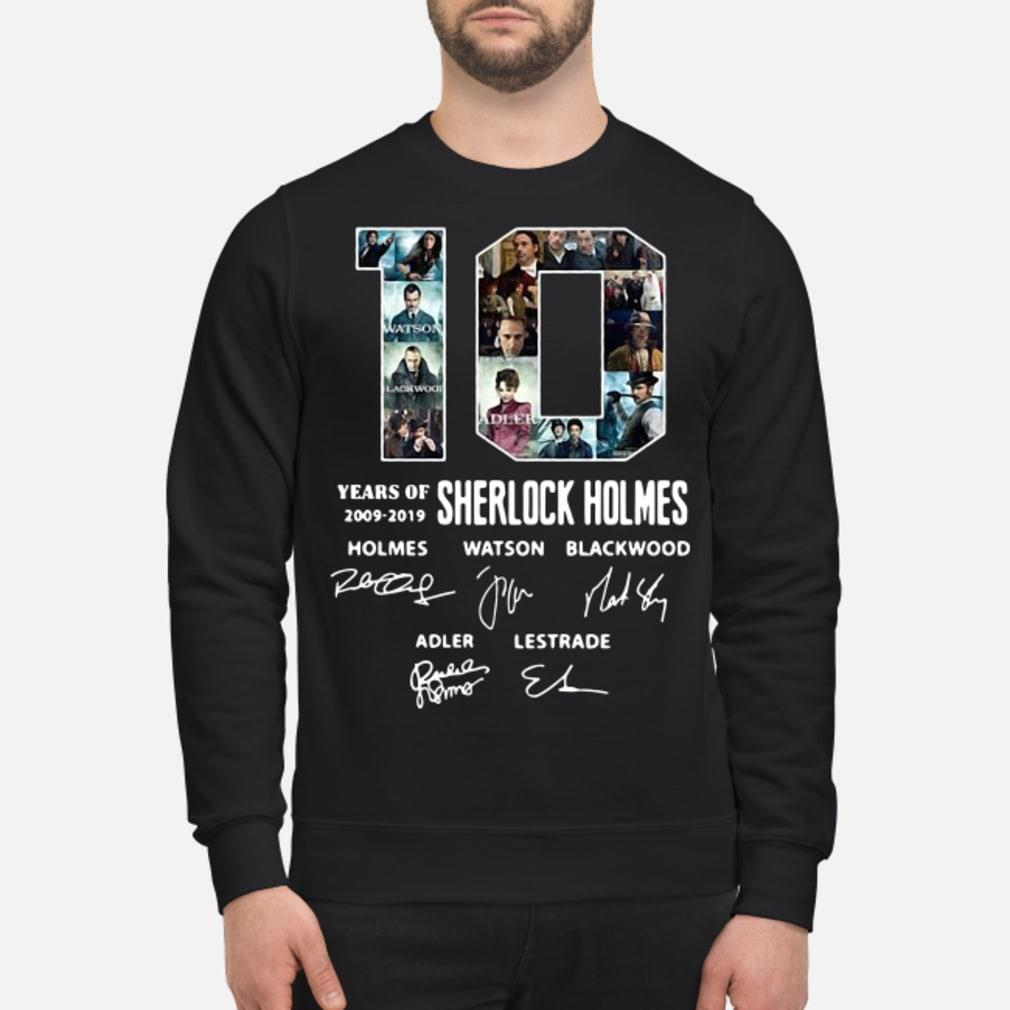 10 Years of Holmes signature shirt sweater