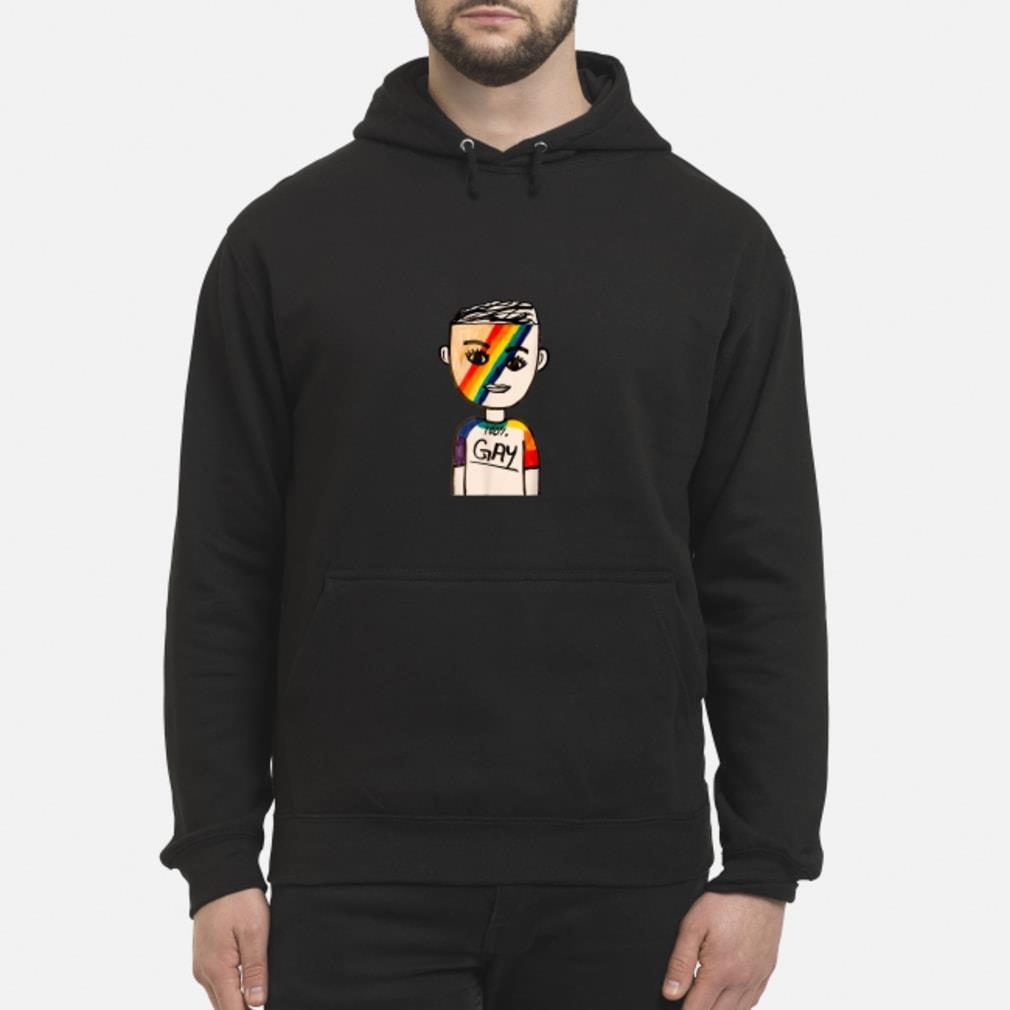 100% Gay LGBT Shirt hoodie