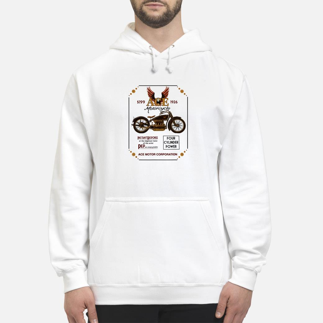 Ace Motorcycle Corporation 1926 T-Shirt hoodie
