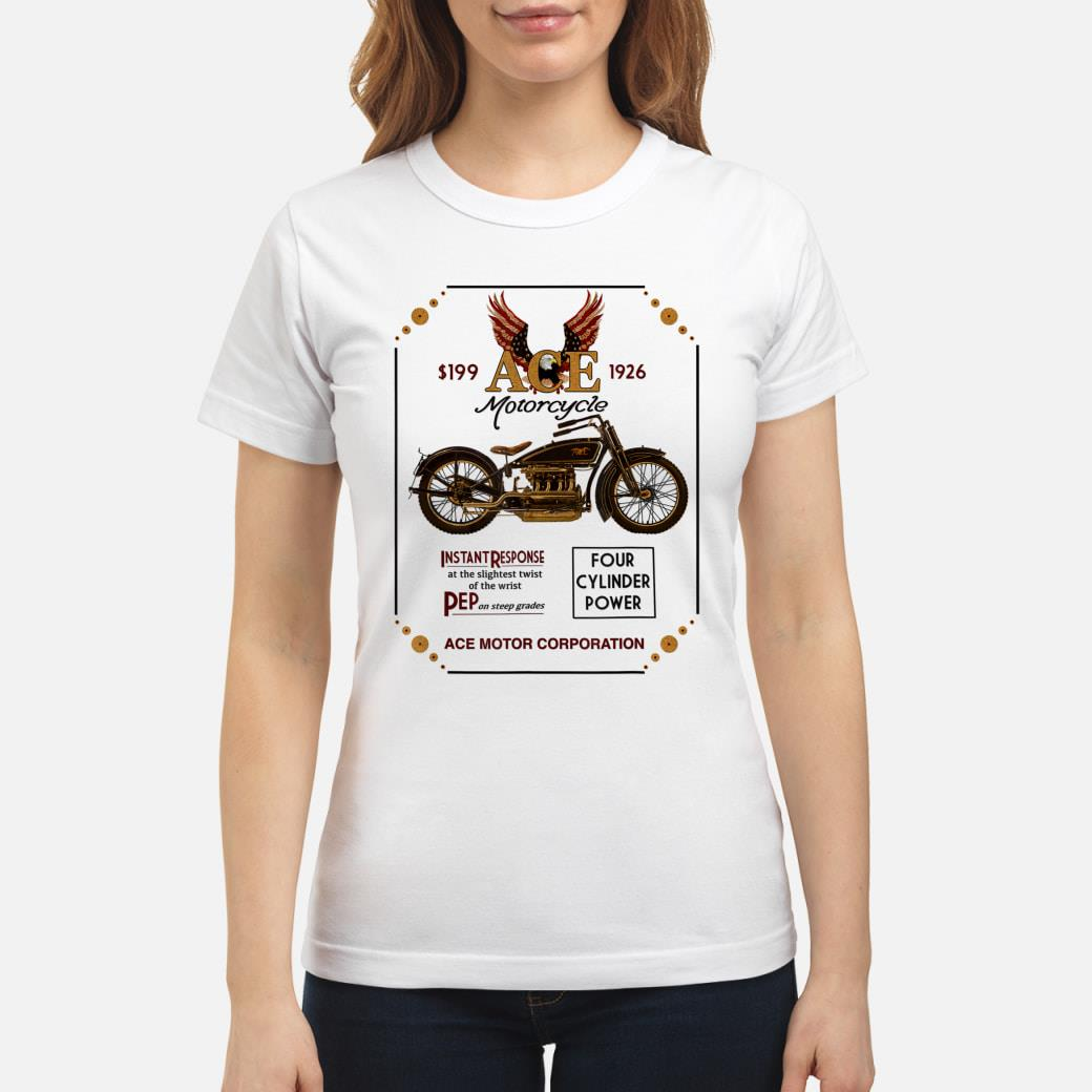 Ace Motorcycle Corporation 1926 T-Shirt ladies tee