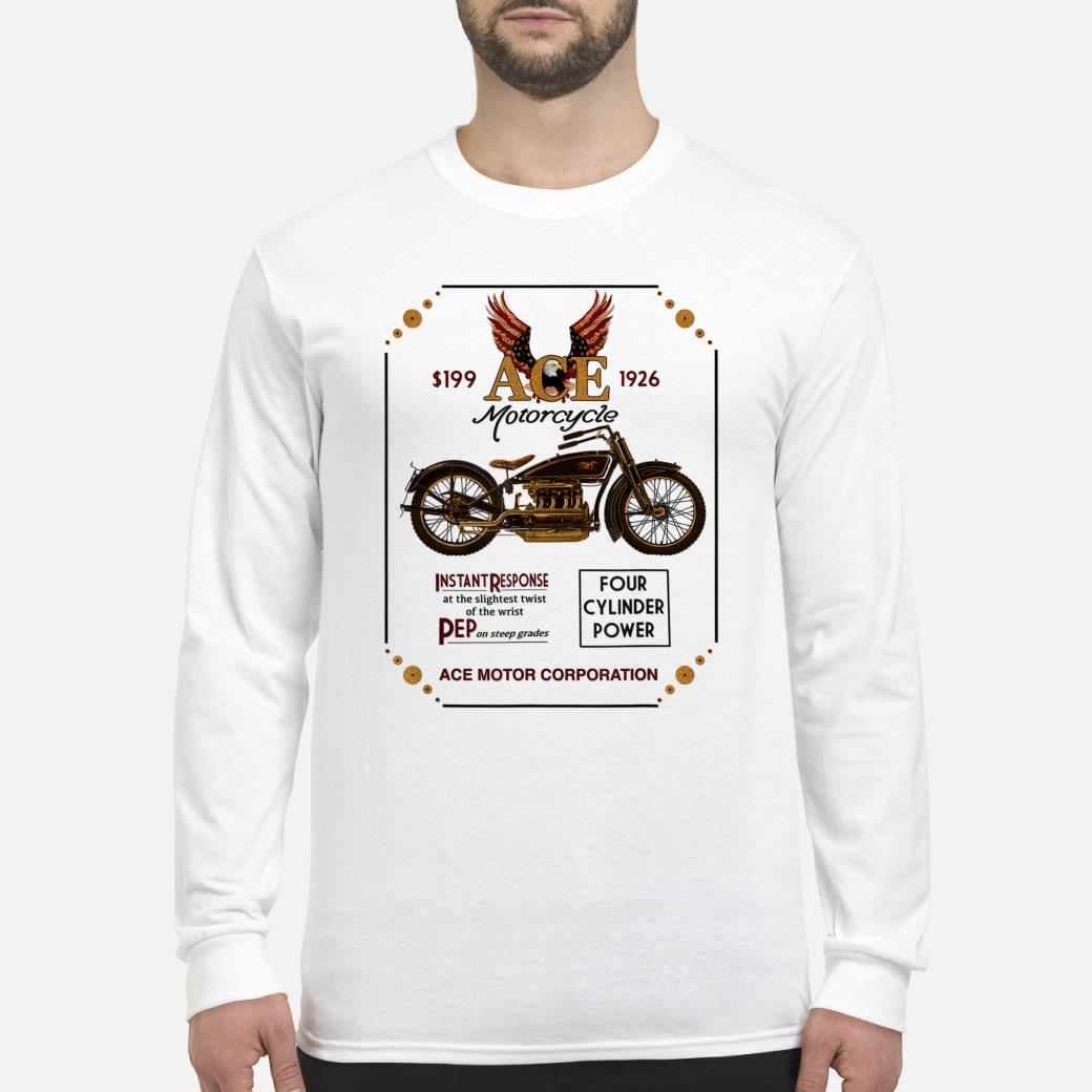 Ace Motorcycle Corporation 1926 T-Shirt Long sleeved