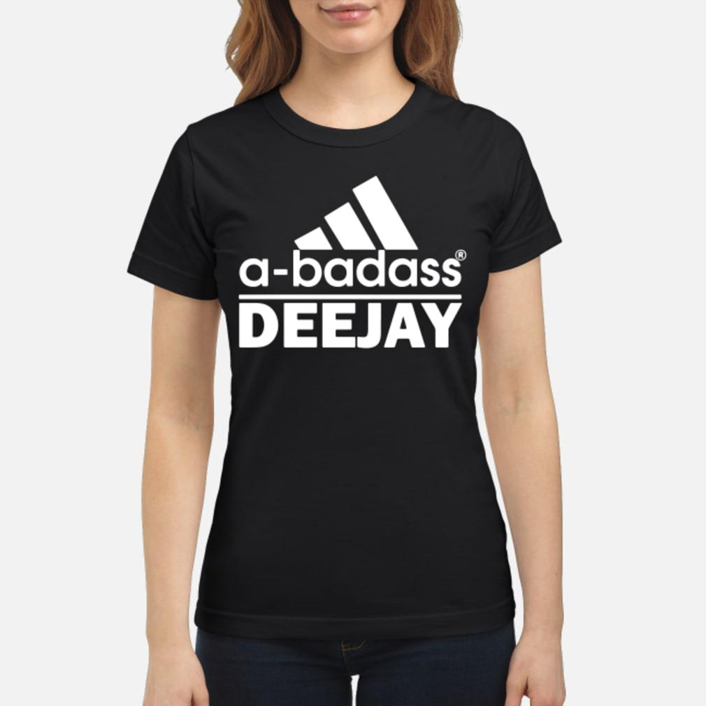 Adidas Logo A-Badass DeeJay shirt ladies tee