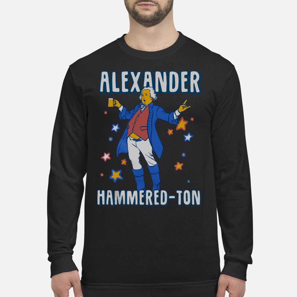 Alexander Hammered-ton shirt Long sleeved