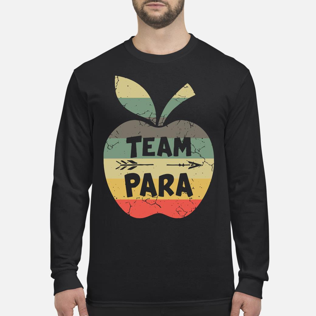 Apple Team Para Shirt Long sleeved