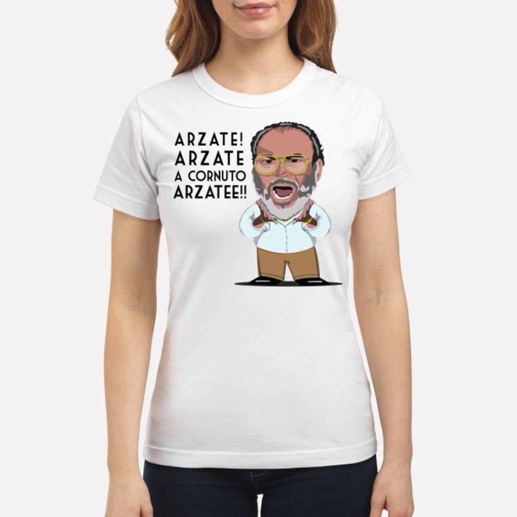 Arzate Arzate A Cornuto Arzatee Shirt ladies tee