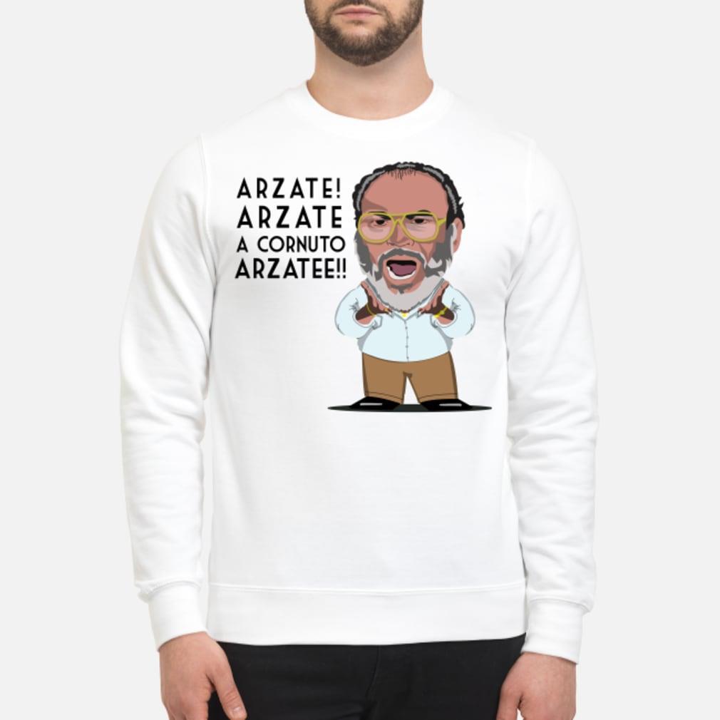 Arzate Arzate A Cornuto Arzatee Shirt sweater
