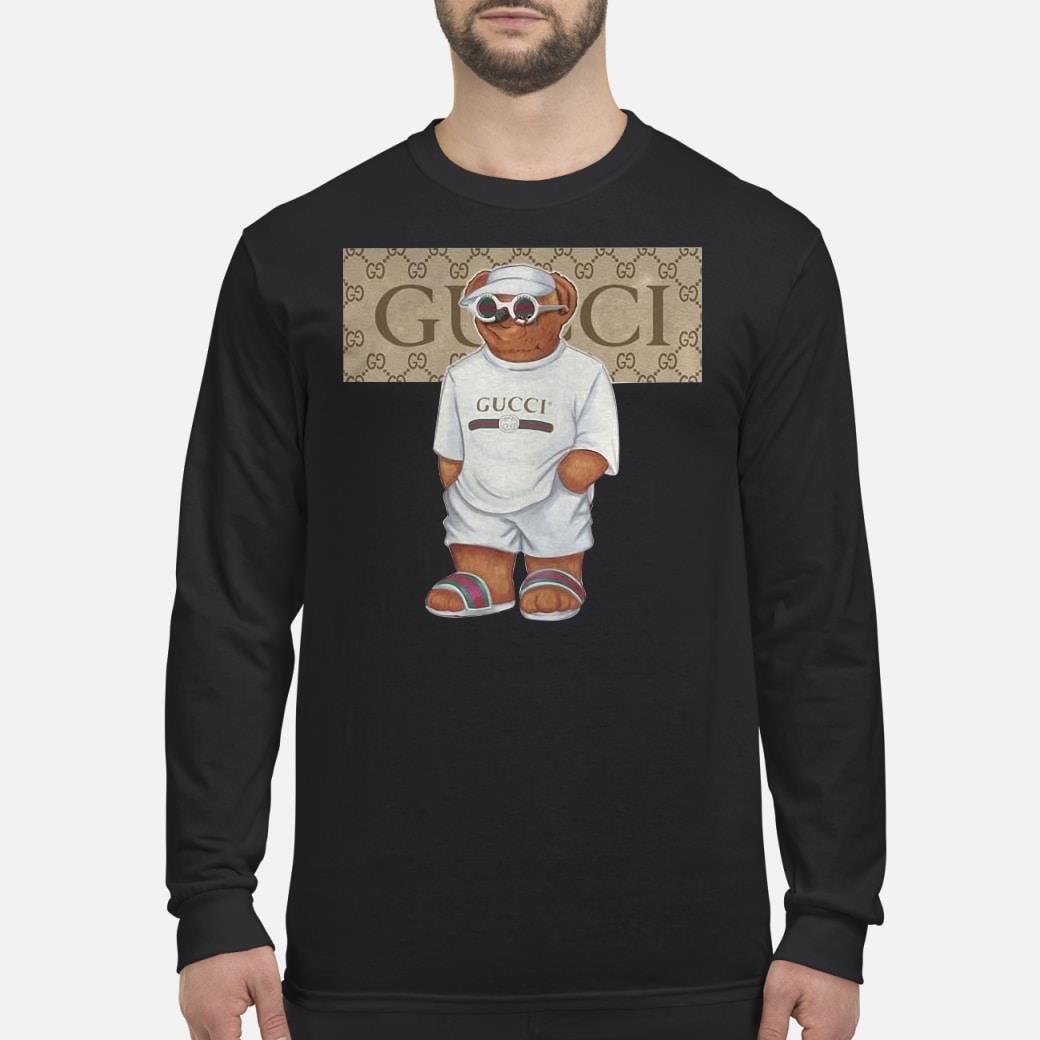 Bears Gucci Logo Shirt Long sleeved
