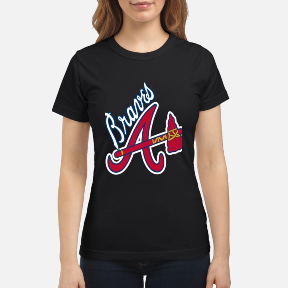 Braves A logo Shirt ladies tee