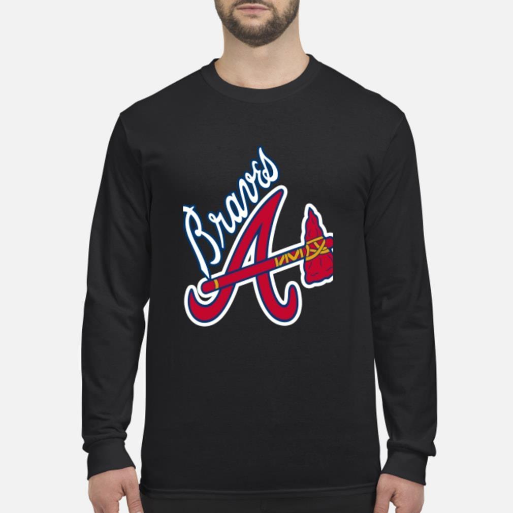 Braves A logo Shirt Long sleeved