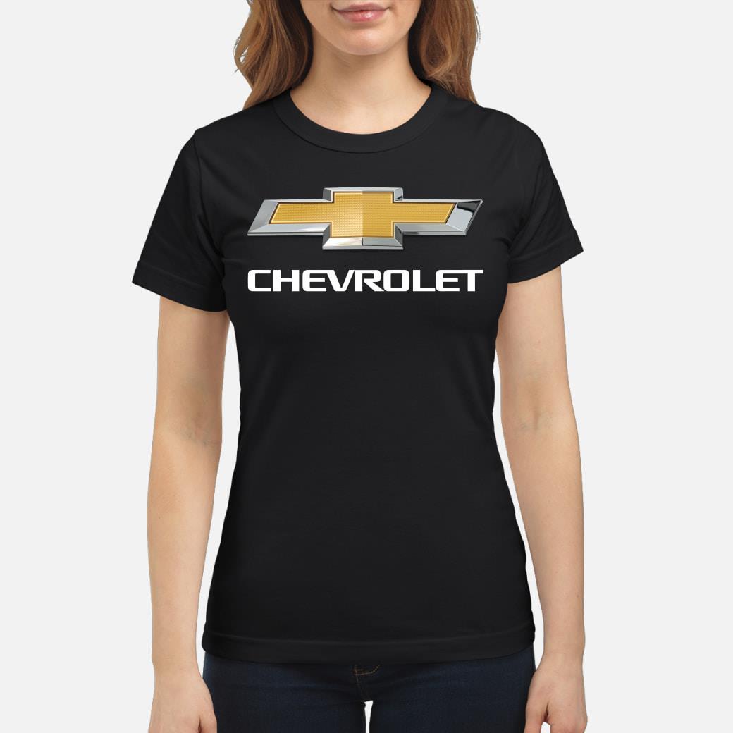 Chevrolet Classic Bowtie Logo Shirt ladies tee