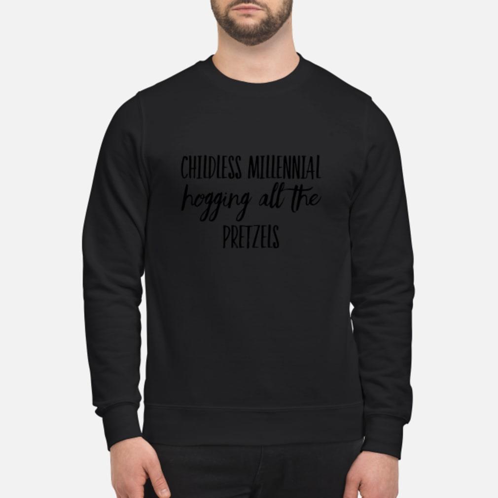Childless Millennial Hogging All Pretzels Shirt sweater