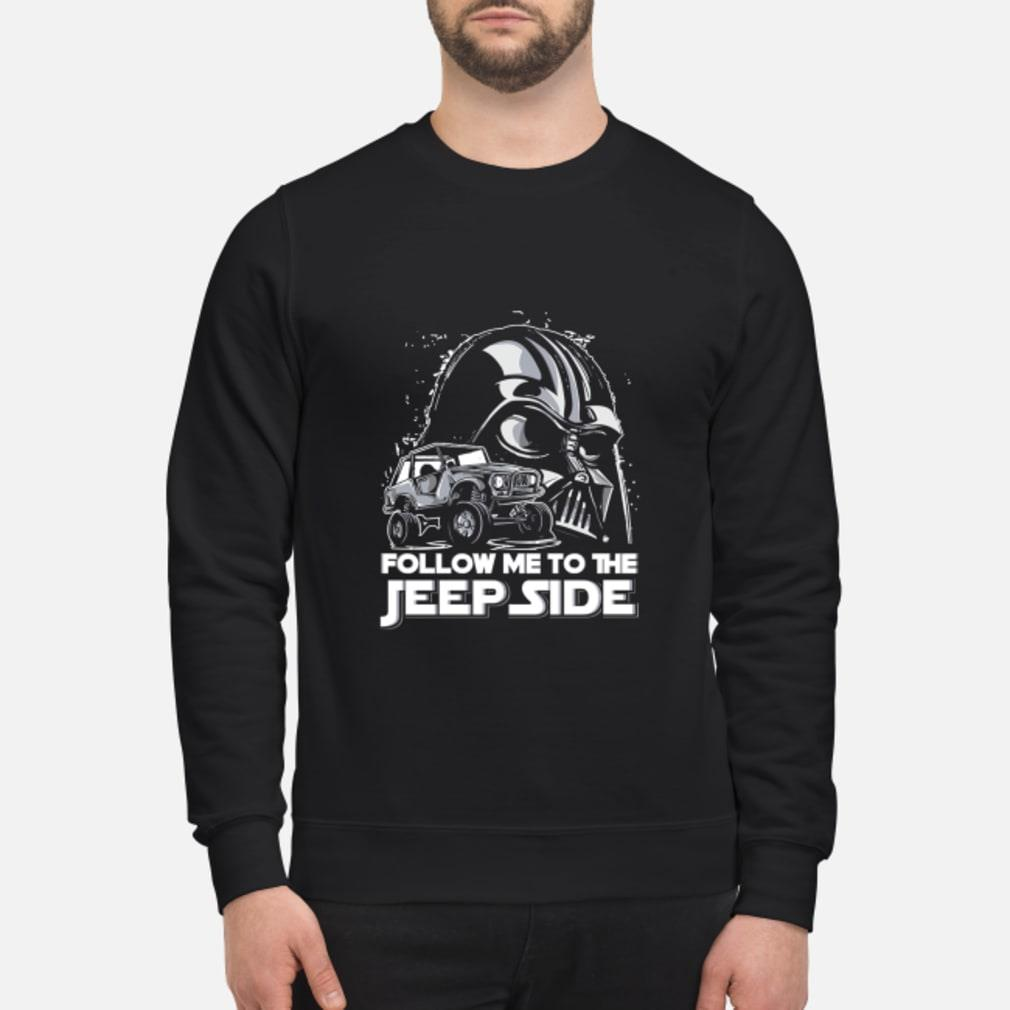 Darth Vader Follow Me To The Jeep Side Shirt sweater