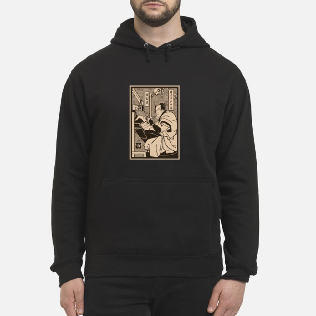 Dentist Samurai shirt hoodie