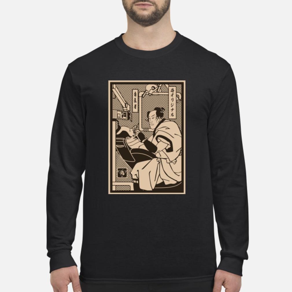 Dentist Samurai shirt Long sleeved