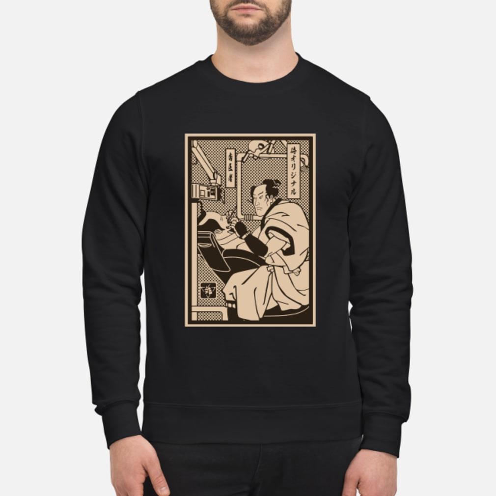 Dentist Samurai shirt sweater