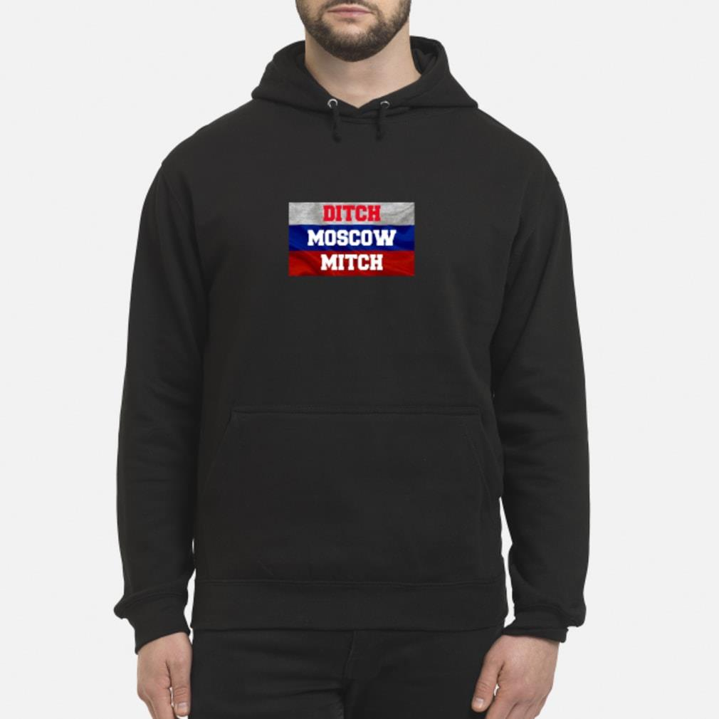 Ditch Moscow Mitch Shirt McConnell Russia Flag Tee Shirt hoodie
