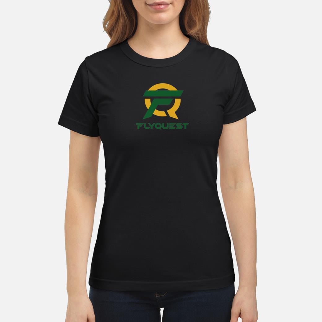 Esports Flyquest Gaming Team shirt ladies tee