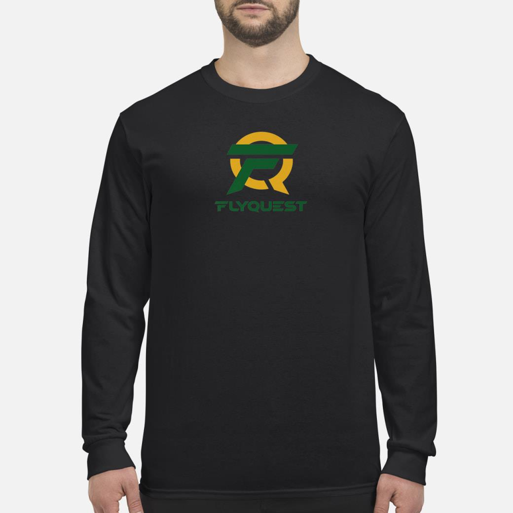Esports Flyquest Gaming Team shirt long sleeved