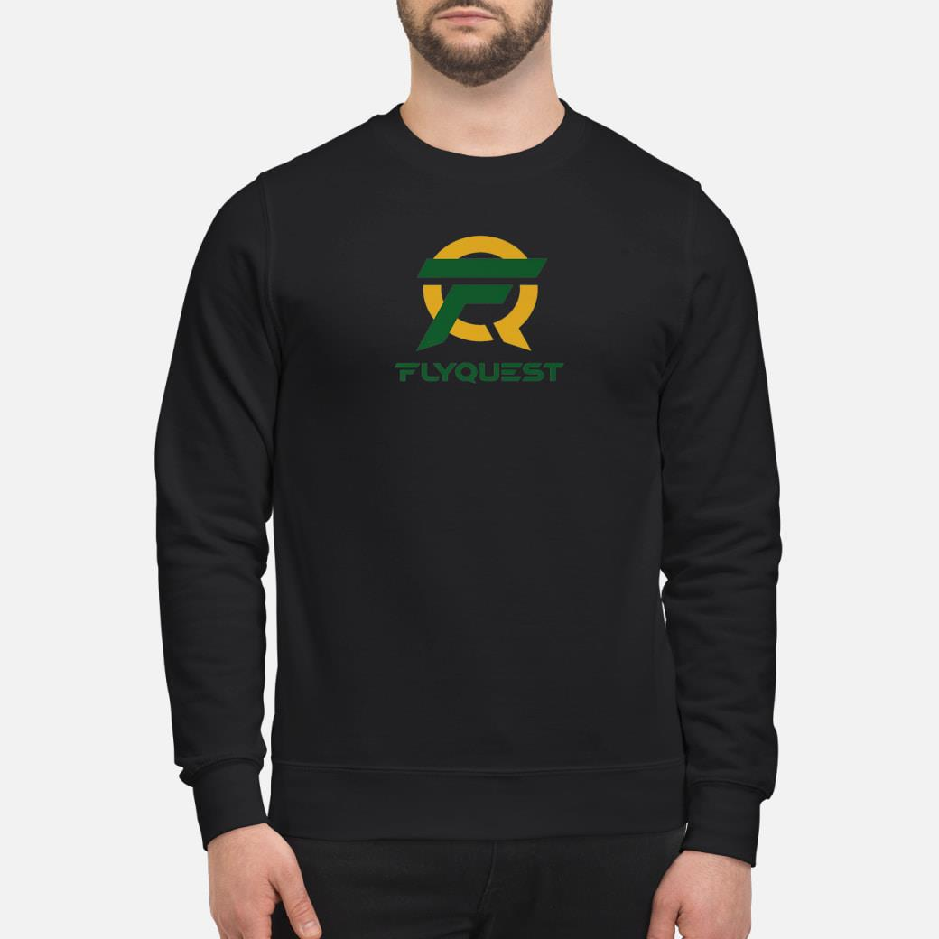 Esports Flyquest Gaming Team shirt sweater