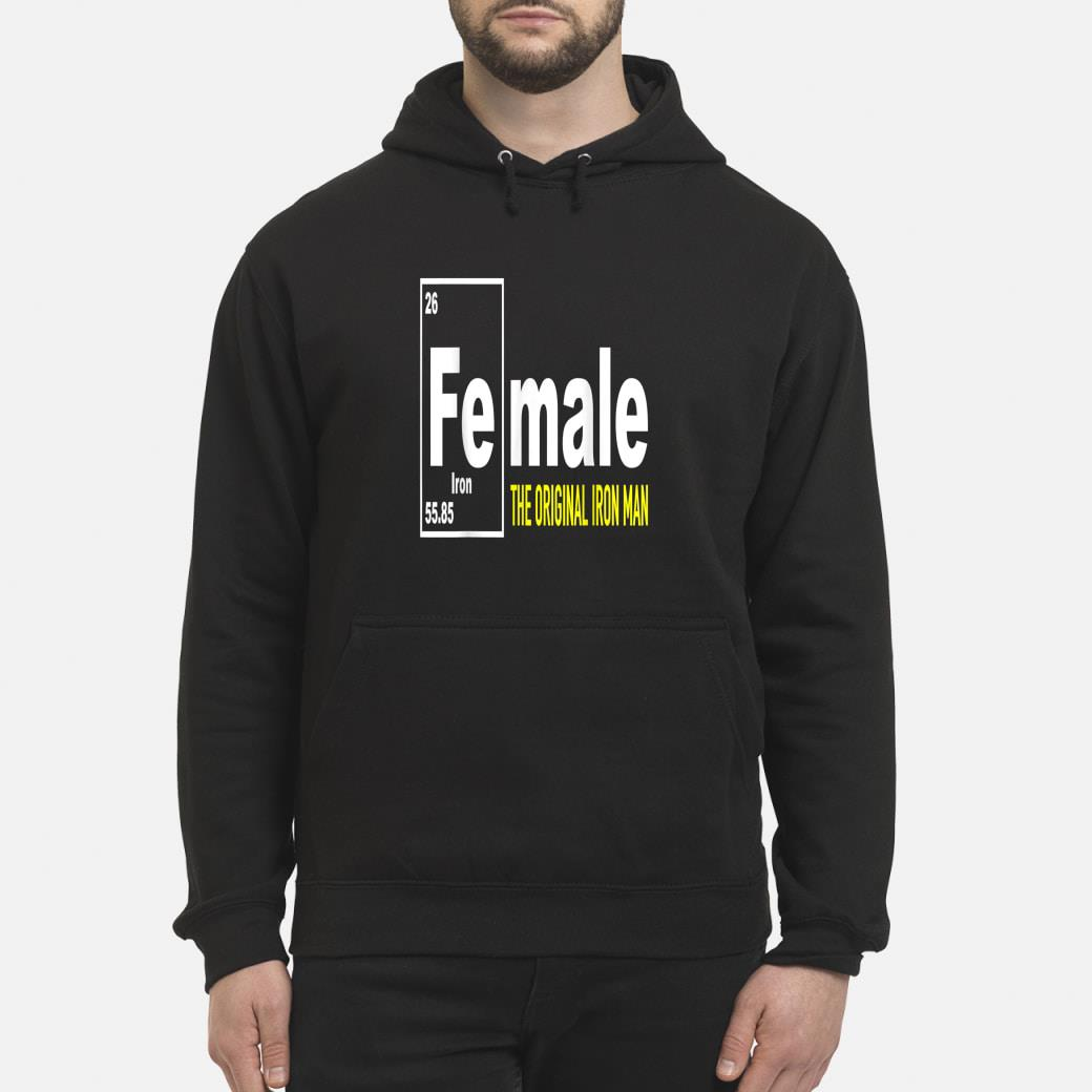 Fe for Iron shirt hoodie