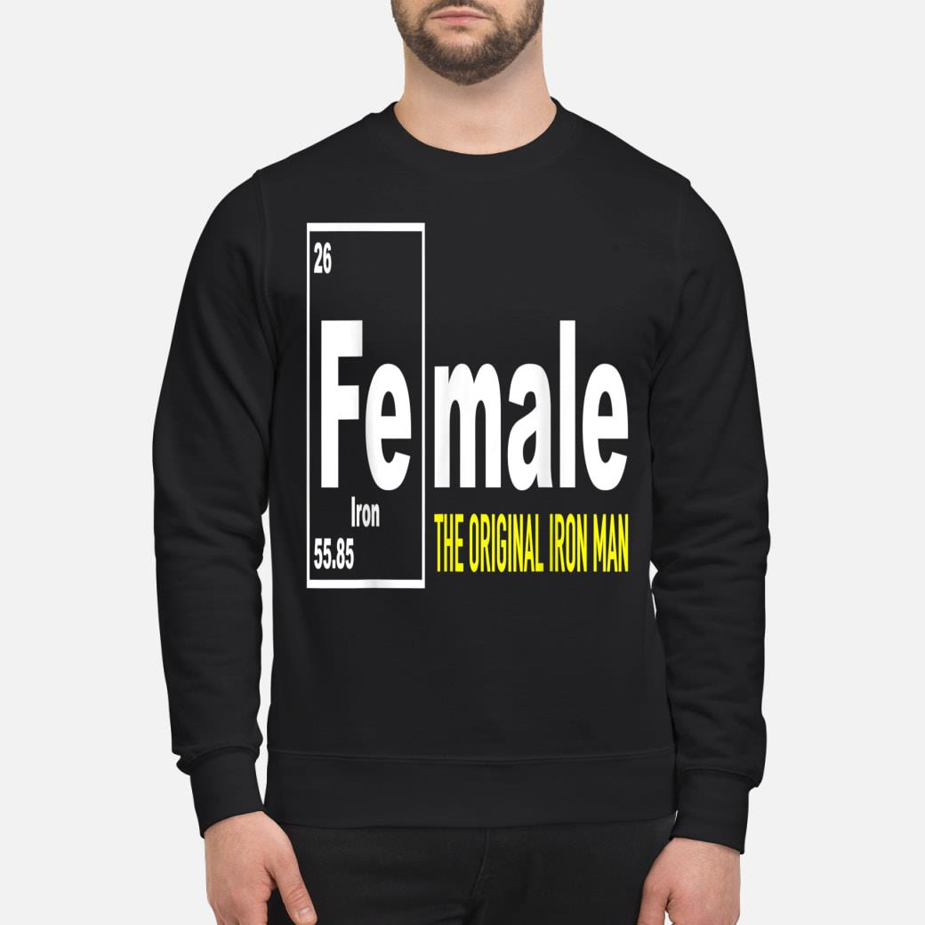 Fe for Iron shirt sweater