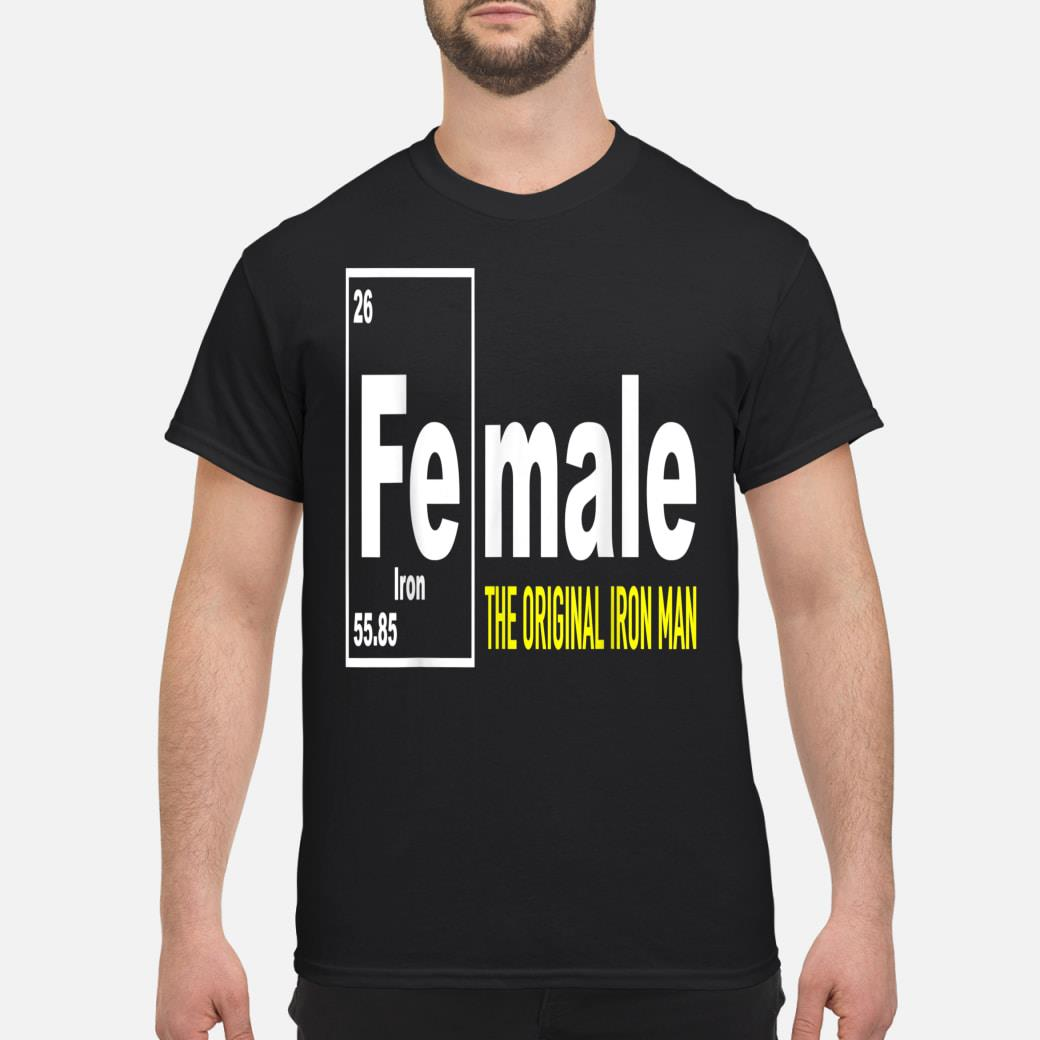 Fe for Iron shirt