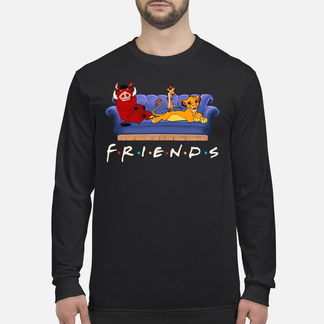 Friends The Lion King Shirt Long sleeved
