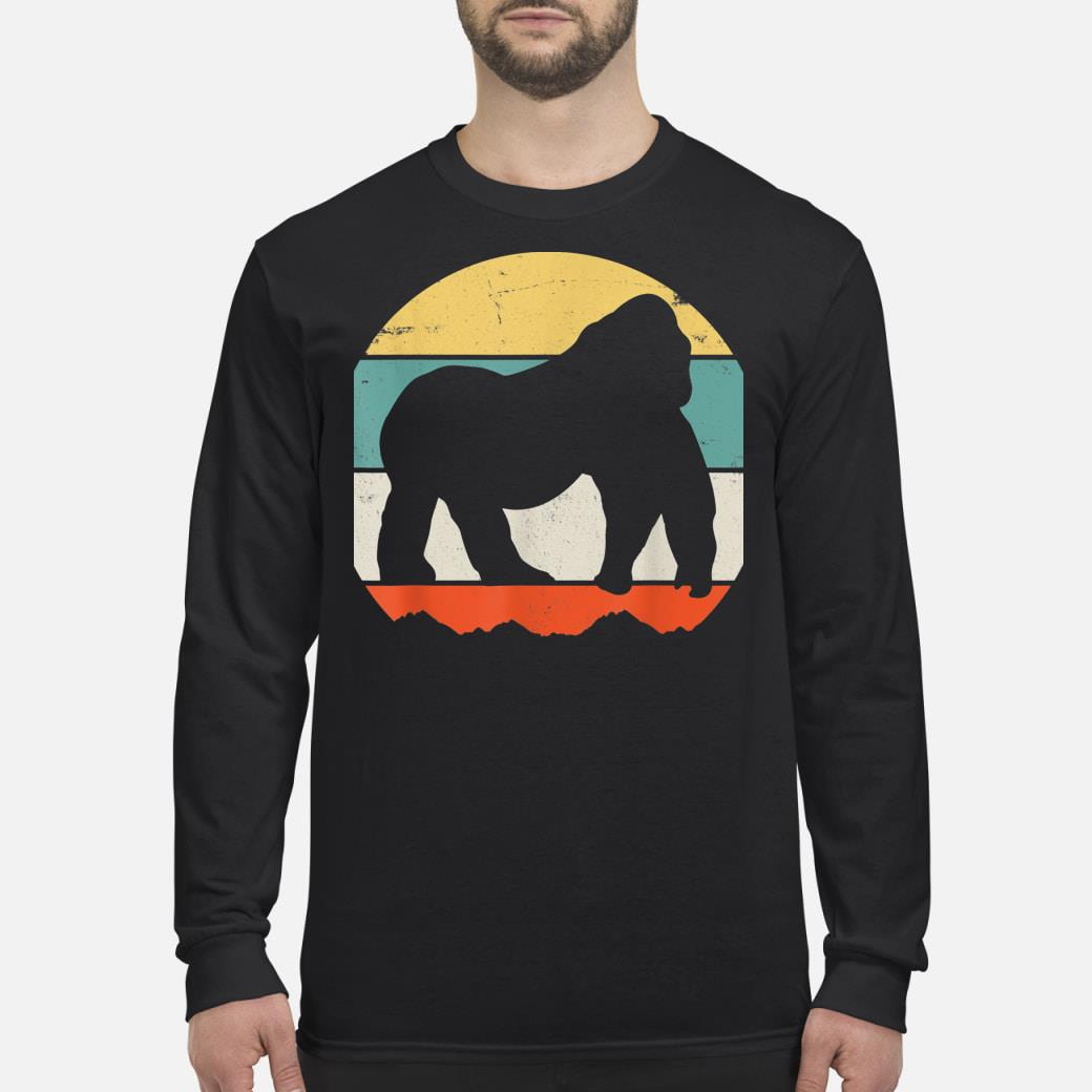 Gorilla shirt Long sleeved