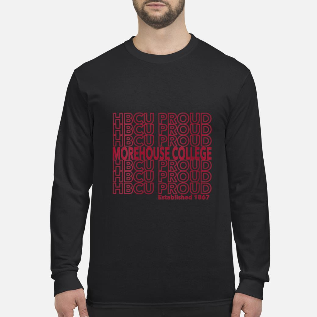 HBCU Proud established 1867 shirt Long sleeved