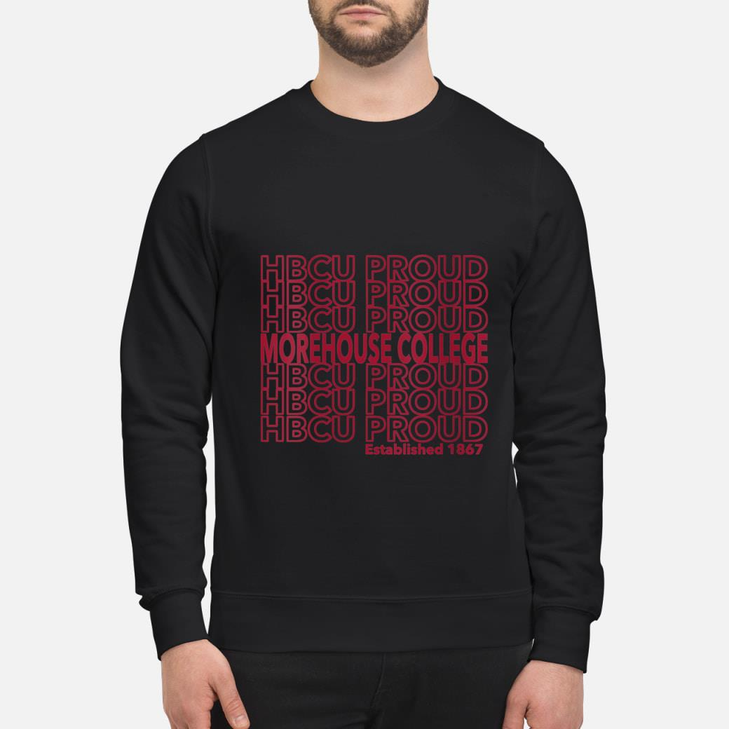 HBCU Proud established 1867 shirt sweater
