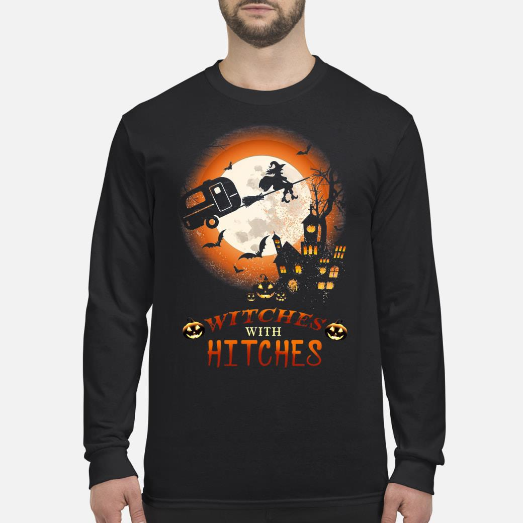 Halloween Witches With Hitches Shirt Long sleeved