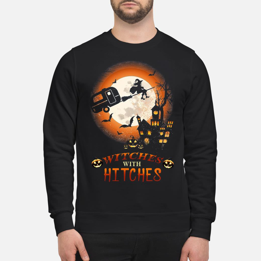 Halloween Witches With Hitches Shirt sweater