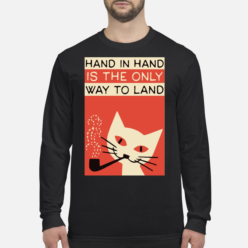 Hand in hand shirt Long sleeved