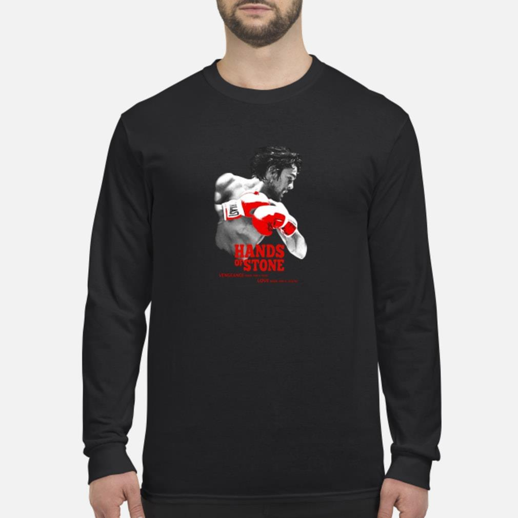 Hands of stone shirt Long sleeved