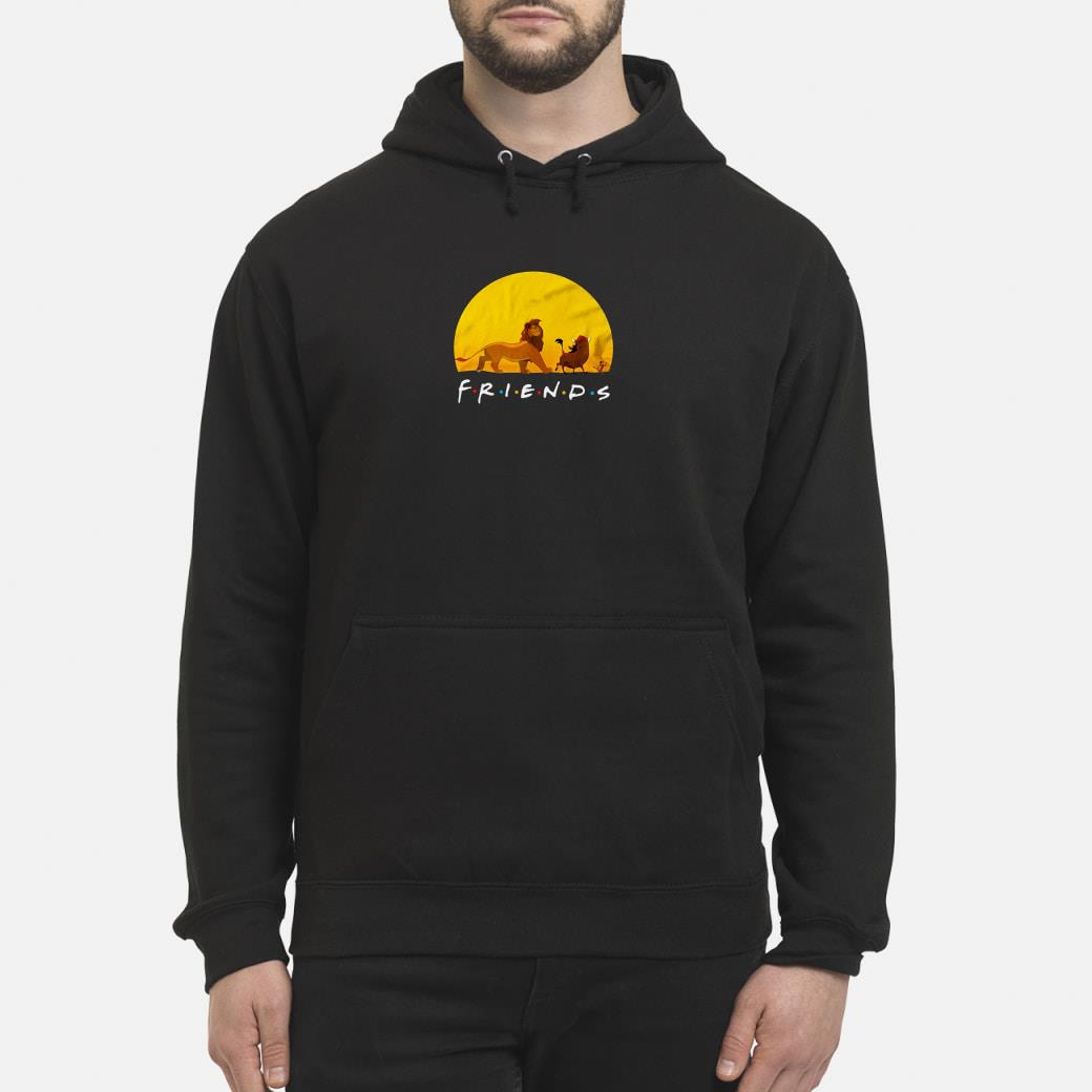 Lion King friends shirt hoodie