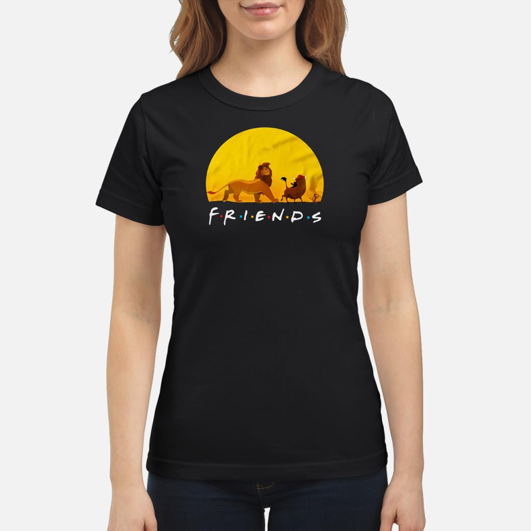 Lion King friends shirt ladies tee