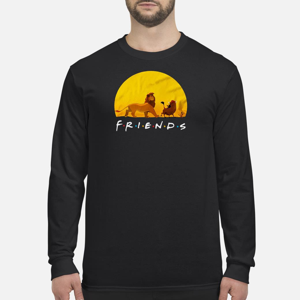 Lion King friends shirt Long sleeved