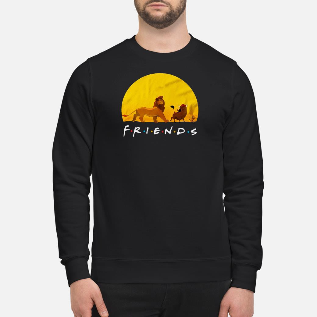 Lion King friends shirt sweater