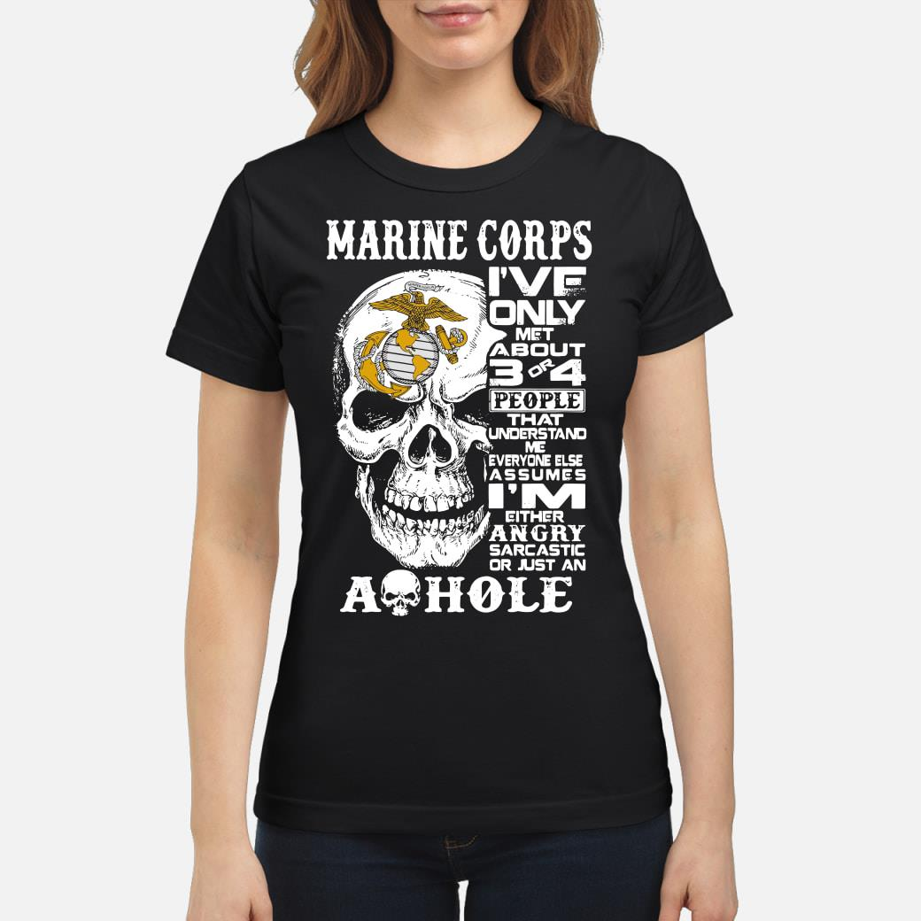 Marine Corps Shirt ladies tee