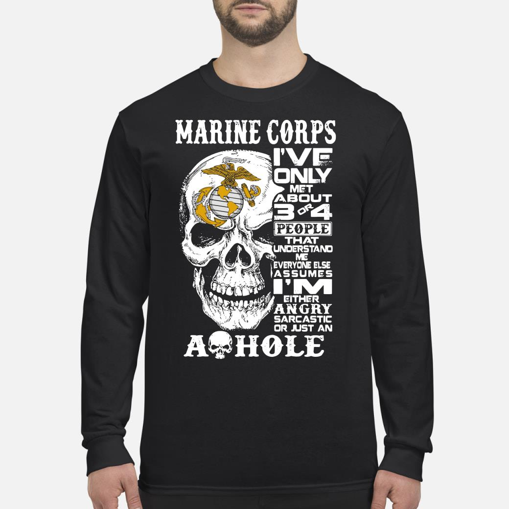 Marine Corps Shirt Long sleeved