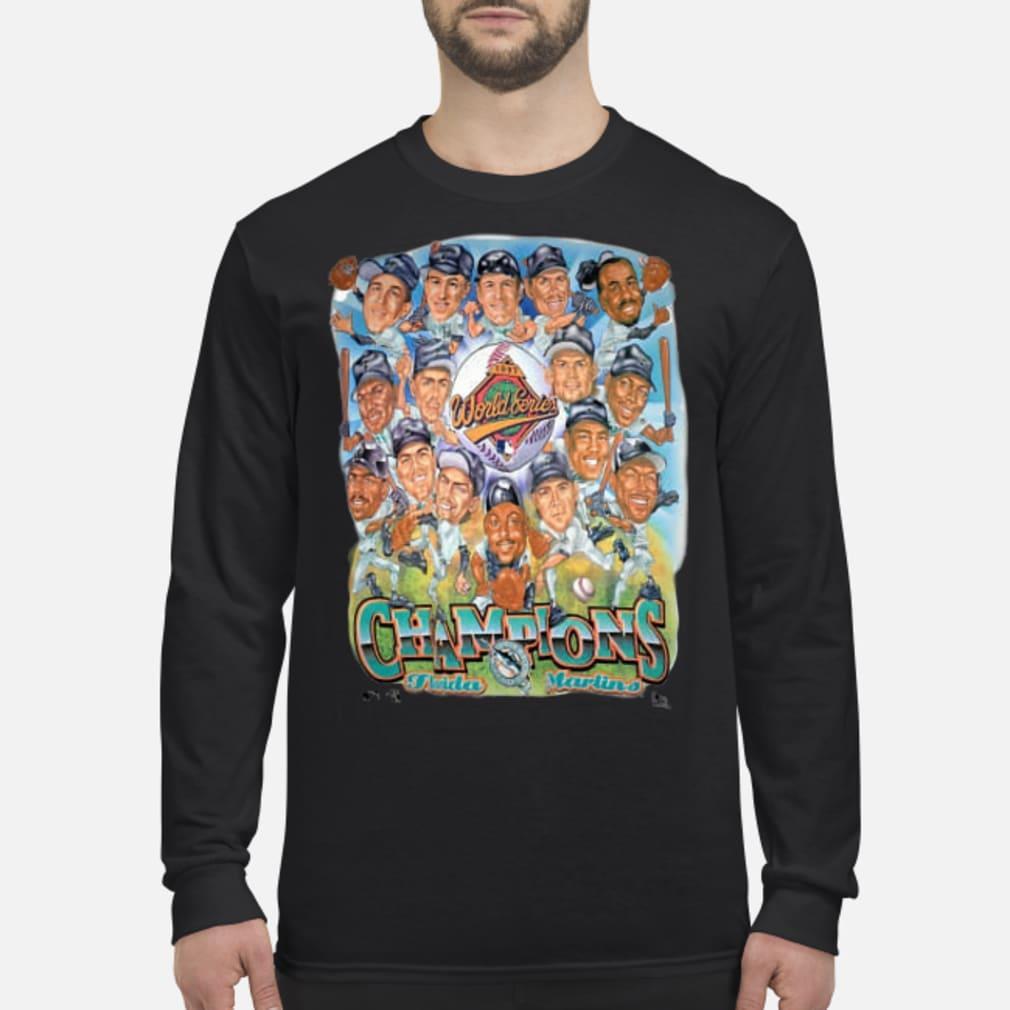 Miami Marlins World Series Champions Shirt Long sleeved