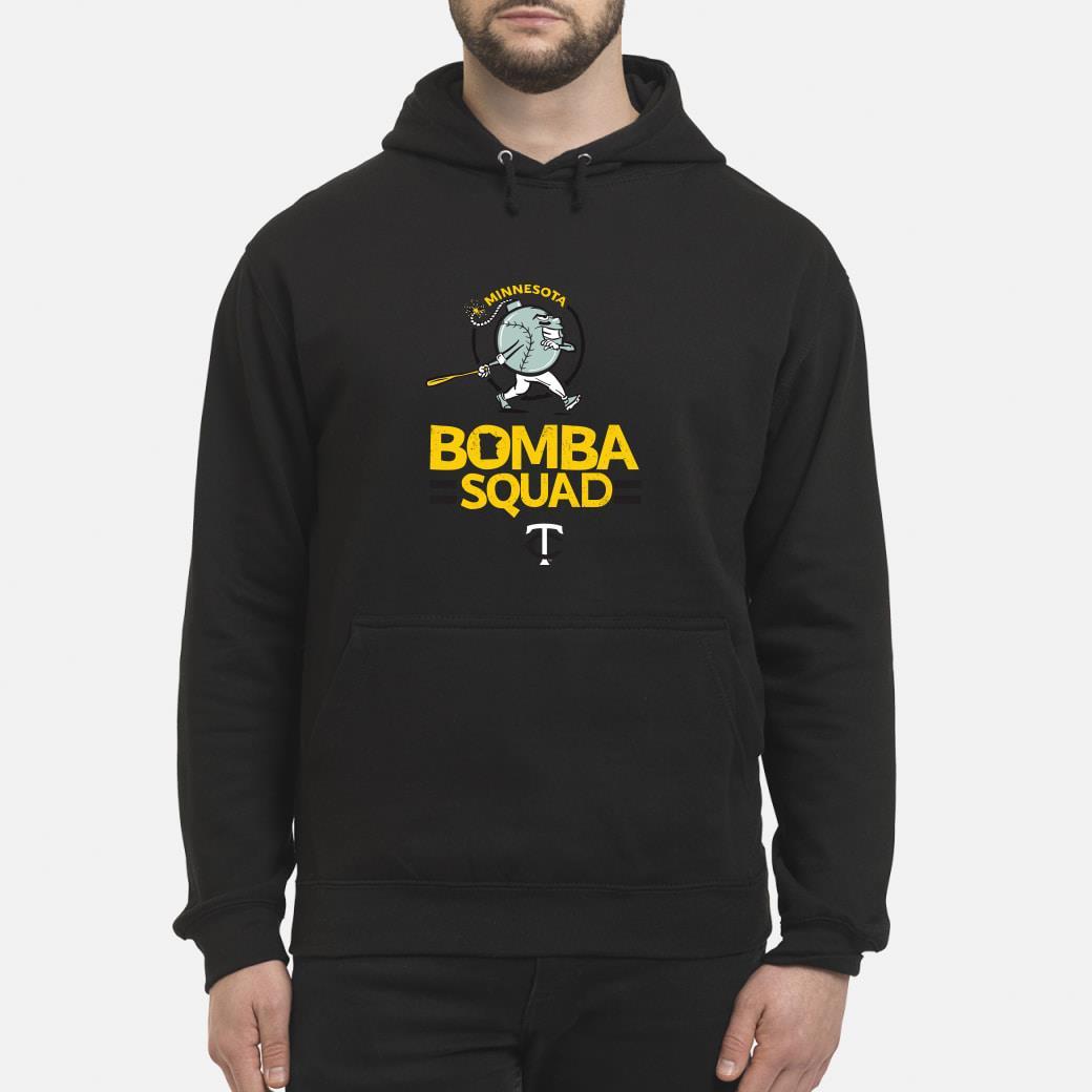 Minnesota bomba squad twins shirt hoodie