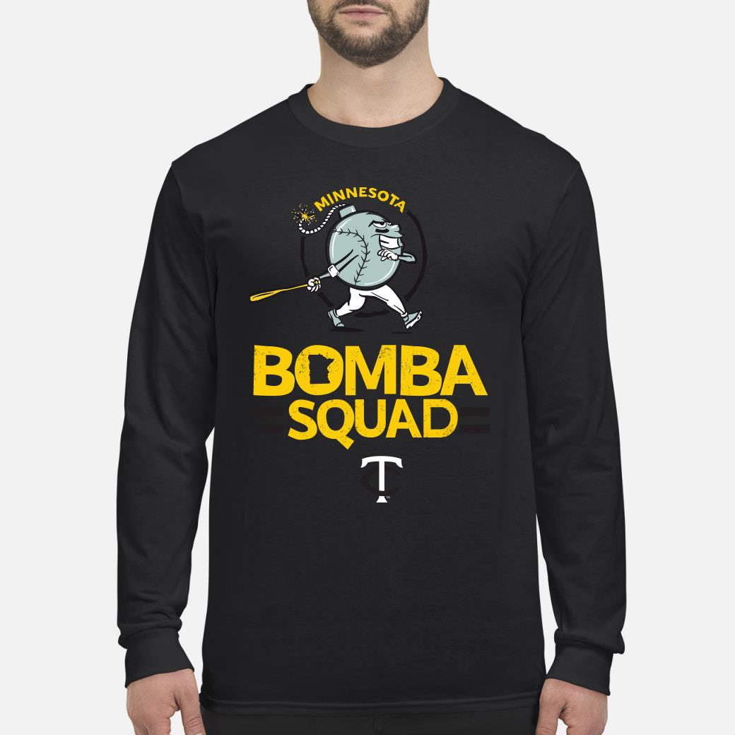 Minnesota bomba squad twins shirt Long sleeved