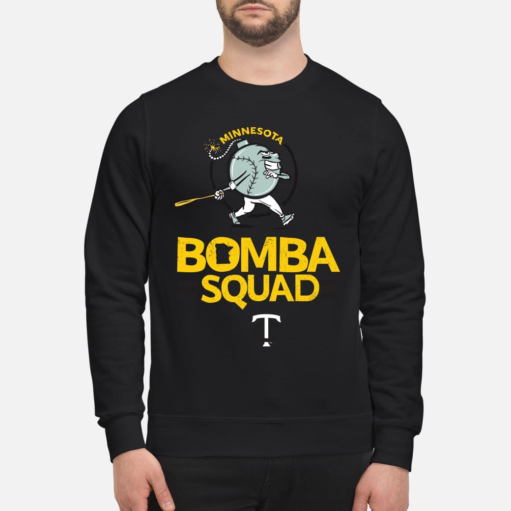 Minnesota bomba squad twins shirt sweater